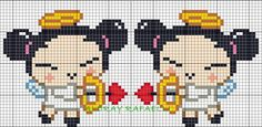 Pucca perler bead pattern by Drayzinha