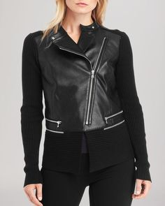 Kenneth Cole New York Reilly Faux Leather Jacket