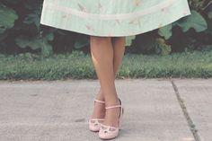 milkandtwee: SHOES: Bettie Page DRESS: Bea &...