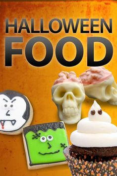 Halloween Food Roundup from Instructables. Pretty much all gory, all excellent.