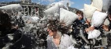 Saturday, April 5, 2014 is International Pillow Fight Day