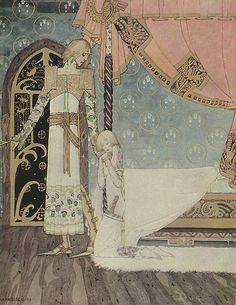 Tell me the Way, she said, And I'll Search You Out - Kay Nielsen, from East of the Sun West of the Moon