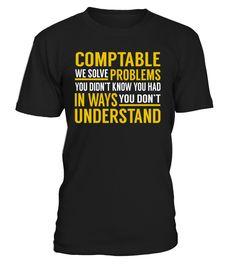 Comptable - We Solve Problems #Comptable