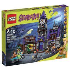 LEGO Scooby-Doo Mystery Mansion Bricks Figures Toy Machine Playset Haunted House #LEGO