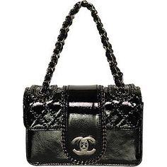 Chanel Madison Patent Evening bag