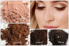Natural colors using Younique for every eye color. #makeup #eyes