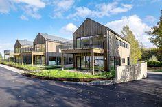 Pilkupüüdva arhitektuuriga eestlaste ehitatud puitmaja Norras on energiasäästlik ja elamissõbralik - Moodne Kodu