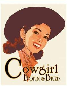 Proud to be a cowgirl.