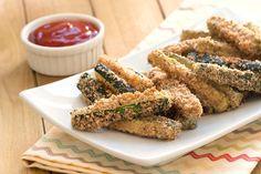 Hungry Girl's Healthy Crispy Zucchini Fries Recipe