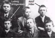 Hitler class photo...1901