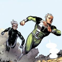 Speed and Quicksilver pencils and ink by Jim Cheung colors by Justin Ponsor Marvel Dc, Marvel Comics Art, Marvel Comic Universe, Marvel Heroes, Best Marvel Characters, Marvel Comic Character, Young Avengers, Avengers Art, Young Guns