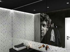 Aj takto dramaticky môže vyzerať návrh kúpeľne...alebo keď sa umenie spája s dizajnom :-) #interiordesign #navrhinterieru #bathroom… Bathtub, Bathroom, Standing Bath, Washroom, Bathtubs, Bath Tube, Full Bath, Bath, Bathrooms