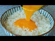 Nasi goreng dengan telur, telur goreng atau nasi goreng dulu - YouTube Healthy Pasta Recipes, Healthy Pastas, Rice Recipes, Asian Recipes, Appetizer Recipes, Kitchen Recipes, Cooking Recipes, Fried Rice With Egg, Fried Eggs