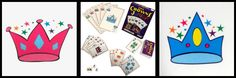 If you like rummy (I love rummy!) and have been trying to figure out how to teach your young children the game than you will LOVE Five Crowns Junior! It is a rummy-style game but unlike rummy you only have to match 5 cards in your hand by either color or number. This is a great for kids 5 years and up but of course (me being me) I am teaching my 3 year old too!