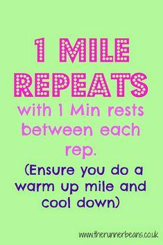 737df8c6bc328 Speedwork Workouts for Marathon Training - The Runner Beans Speed Workout