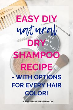 Colored Hair Tips, Diy Shampoo, Different Hair Colors, Mom Hairstyles, Natural Hair Care, Natural Dry Shampoo, Natural Cleaning Products, Simple Makeup, Diy Beauty