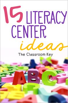 15 literacy center ideas for elementary teachers