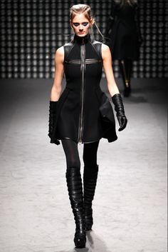 Gareth Pugh, one of the designers listed as a source of inspiration for the fashion in Deus Ex: Human Revolution.
