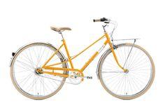 Creme Caferacer Uno 28 Zoll Urbanbike Damen Mango (2017)