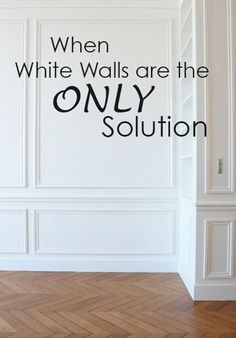 When White Walls are the ONLY Solution | Maria Killam | True Colour Expert | Decorator