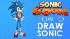 HOW TO DRAW ✎ SONIC ✎ SONIC BOOM