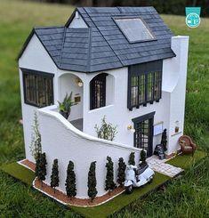 Shenandoah & Stuff: 2018 Creatin' Contest - First, Second & Third Place - 02 Miniaturen - Doll House Victorian Dollhouse, Modern Dollhouse, Diy Dollhouse, Dollhouse Furniture, Dollhouse Miniatures, Fairy Houses, Play Houses, Doll Houses, Miniature Houses