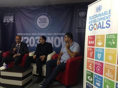 #SDG's discussion at Social Good Summit in Palestine. | #2030Now #Palestine #GlobalGoals