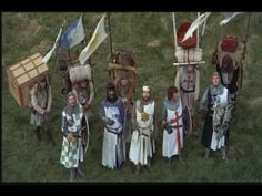 Monty Python and the Holy Grail - The French Taunt