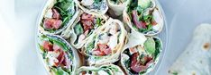 WRAPY Z TORTILLI Tortille pszenne nadziewane