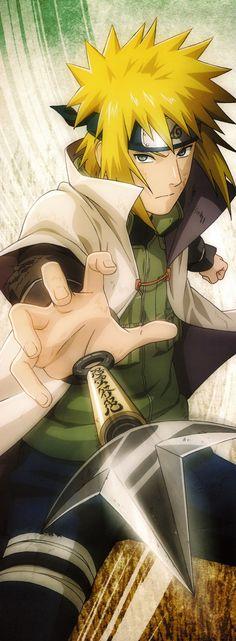 HD wallpaper: yellow-haired male anime character, Naruto Shippuuden, Namikaze Minato