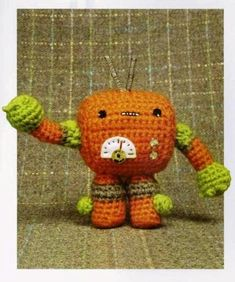 Points & Lines Crobot.  FREE PATTERN 7/14.
