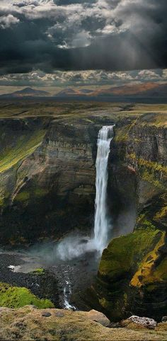 #Haifoss #Waterfall, #Iceland http://en.directrooms.com/hotels/country/2-76/