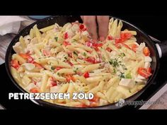 Tejszínes-sajtos csirkés tészta - YouTube Cabbage, Vegetables, Youtube, Food, Essen, Cabbages, Vegetable Recipes, Meals, Youtubers