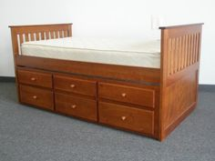 Bedz King Captains Twin Bed with Twin Trundle and 3 Drawers in Espresso - http://www.furniturendecor.com/bedz-king-captains-twin-bed-with-twin-trundle-and/ - Related searches: Bedroom Furniture, Beds and Bed Frames, Furniture, Home and Kitchen