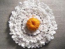 Irish Crochet Daisy || Free PDF Pattern
