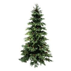 Shop Northlight  31421031 7-ft New England Pine Medium Artificial Christmas Tree - Unlit at ATG Stores. Browse our artificial christmas trees, all with free shipping and best price guaranteed.