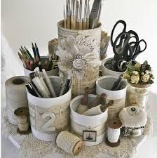 recycle cookie tin art - Google Search