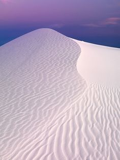 Earthshadow At White Sands by Ben  H., via Flickr