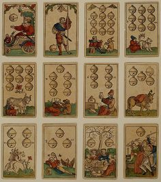 Suit of Bells, from The Playing Cards of Hans Schäufelein