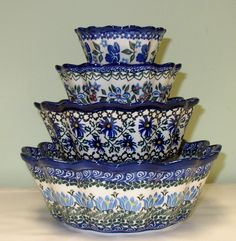 Polish Pottery  A manager that worked for me was from Poland and started my sweet addiction of this beautiful stoneware! I feel so blessed!