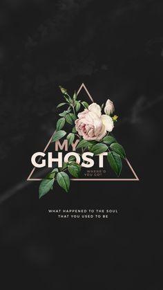 kaespo — lockscreens no. 17 - ghost lyrics by halsey - for...
