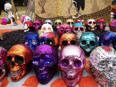 Calaveritas disco ball!
