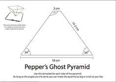 3d hologram projector pyramid - Buscar con Google