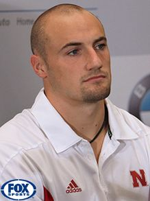 Rex Burkhead! Sexy Rexy  ♥ Nebraska Husker Football. Yeah that's right, I pinned him under famous people I <3.