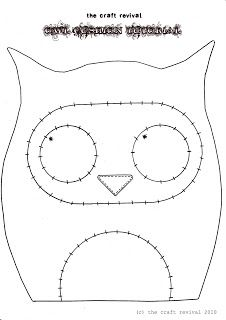 Owl pillow! :)
