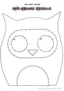Owl pillow!  :)