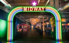 This State Fair themed Bar Mitzvah featured multiple games and yummy treats to eat! Entrance Design, Entrance Gates, Gate Design, Grand Entrance, State Fair Theme, Bar Mitzvah Themes, Bat Mitzvah, Home Depot Carpet, Mood Images