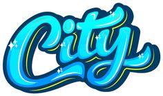 "Logo ""City"" by Kirill Richert, via Behance"
