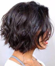 20 gorgeous short hairstyles for thick hair - Madame Fri .- 20 Hinreißende Kurzhaarfrisuren für dickes Haar – Madame Friisuren 20 Adorable Short Hairstyles for Thick Hair – Madame Hairstyles