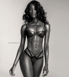 TONED BEAUTIFUL BODY of Black #Fitness model : if you LOVE Health, Workouts & #Inspirational Body Goals - you'll LOVE the #Motivational designs at CageCult Fashion: http://cagecult.com/mma